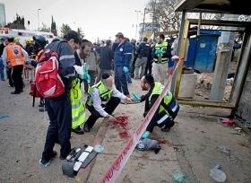 Nach dem Bombenanschlag: Jerusalem, 23. März 2011
