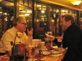 Tuvia Tenenbom (links) und Stefan Frank, Oldenburg, 27. Februar 2013