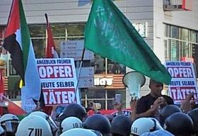 Antiisraelischer Aufmarsch in Essen, 18. Juli 2014