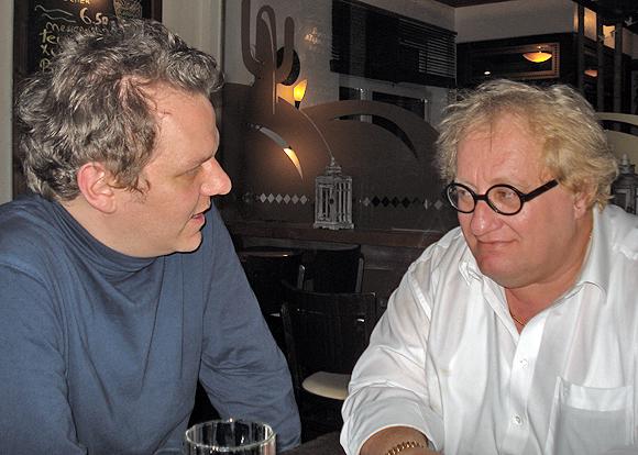 Tuvia Tenenbom (rechts) mit Stefan Frank (© Stefan Frank)