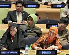 Jahrestagung der UN-Frauenrechtskommission, New York, März 2015