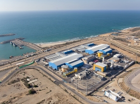 Meerwasser-Entsalzungsanlage im israelischen Ashkelon (© Wikipedia)