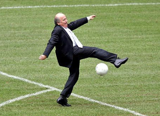 Sepp Blatter – for the good of the game!