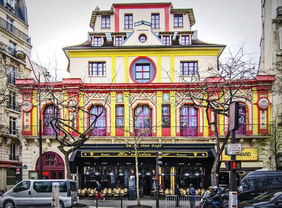 Zum Foto: Das »Bataclan« am Boulevard Voltaire in Paris
