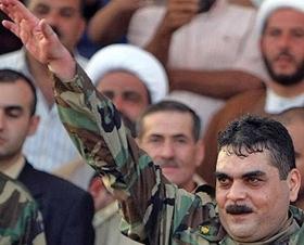 Samir Kuntar nach seiner Freilassung, Naqura (Südlibanon), 16. Juli 2008