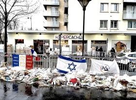 Der jüdische Supermarkt in Paris. Foto: J.J. Georges, lizenziert unter CC-BY-SA 4.0 über Wikimedia Commons