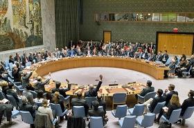 Der UN-Sicherheitsrat bei der Abstimmung über die Resolution 2334, New York, 23. Dezember 2016 (© Manuel Elias, UN Photo)
