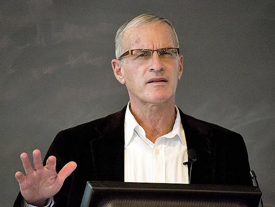 Norman Finkelstein im März 2012, © swarthmorephoenix1881 mit CC-BY-NC-2.0-Lizenz via Flickr
