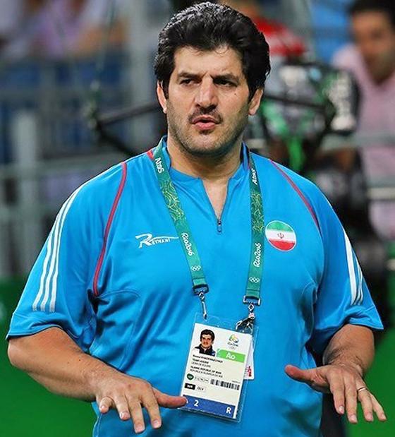 Rasoul Khadem während der Olympischen Sommerspiele in Rio de Janeiro, August 2016 (© Tasnim News Agency mit CC-BY-4.0-Lizenz via Wikimedia Commons)