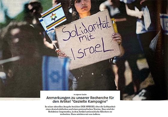 Screenshot der Erklärung der Spiegel-Chefredaktion